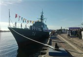 Sahand Destroyer Joins Iran Navy Fleet