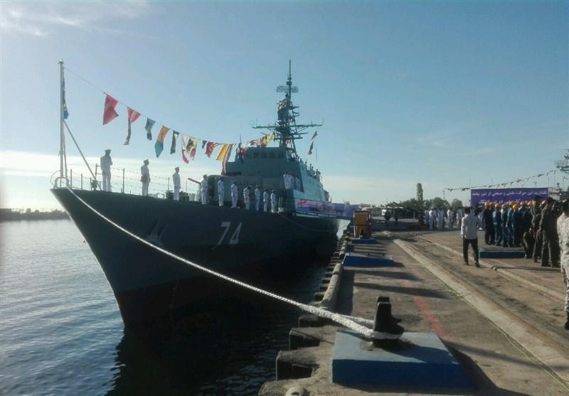 Sahand Destroyer Joins Iran Navy Fleet