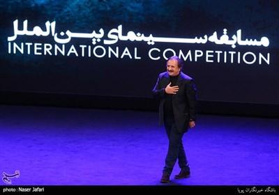 مجید مجیدی در اختتامیه پانزدهمین جشنواره بین المللی فیلم مقاومت