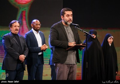 سید محمود رضوی در اختتامیه پانزدهمین جشنواره بین المللی فیلم مقاومت