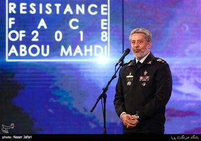 امیر دریادار سیاری در اختتامیه پانزدهمین جشنواره بین المللی فیلم مقاومت