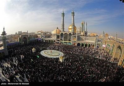 مراسم استقبال از ورود نمادین کاروان حضرت معصومه س به قم