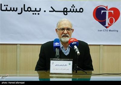 فریدون نوحی رییس انجمن قلب و عروق ایران