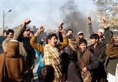 تظاهرات مردمی در شرق افغانستان در اعتراض به کشتار غیرنظامیان توسط آمریکا