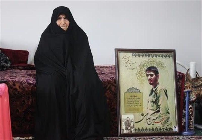 پیام تسلیت سردار باقرزاده بهمناسبت درگذشت مادر فرمانده شهید سوسنگرد