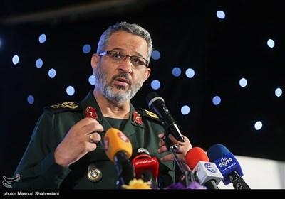 سخنرانی سردار غلامحسین غیب پرور فرمانده بسیج در اولین گردهمایی فعالان فضای مجازی بسیج