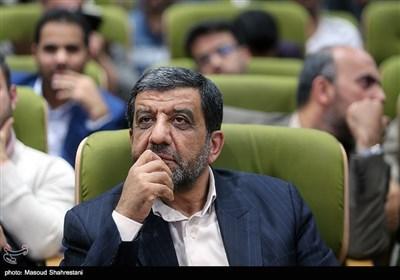 عزتالله ضرغامی عضو شورای عالی فضای مجازی در اولین گردهمایی فعالان فضای مجازی بسیج