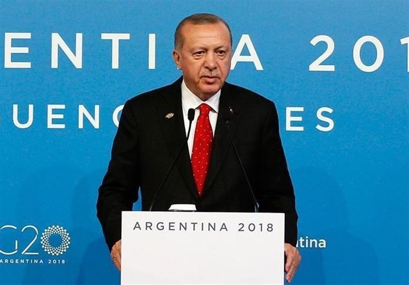 اردوغان: چشمداشتی به خاک سوریه نداریم/ همکاری با ایران و روسیه برای امنیت منطقه است
