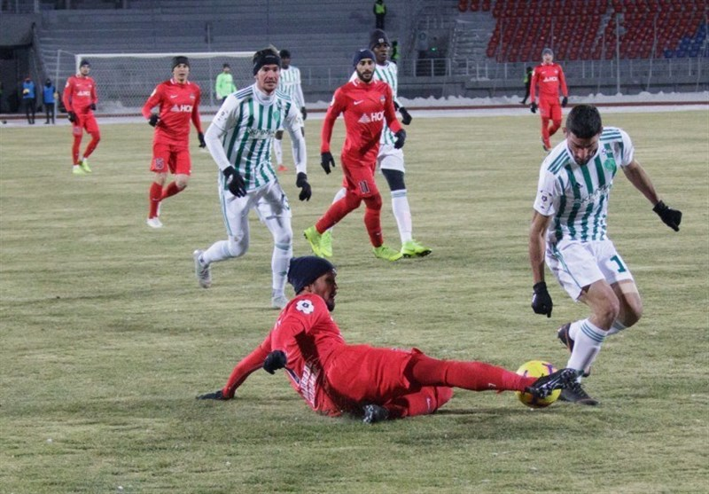 میلاد محمدی بهترین بازیکن گروژنی در کراسنویارسک + عکس