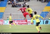 محمد شادکام: مقابل تیمهای بزرگ نتایج خوبی گرفتیم/ پتانسیل امتیاز گرفتن از پرسپولیس را داریم