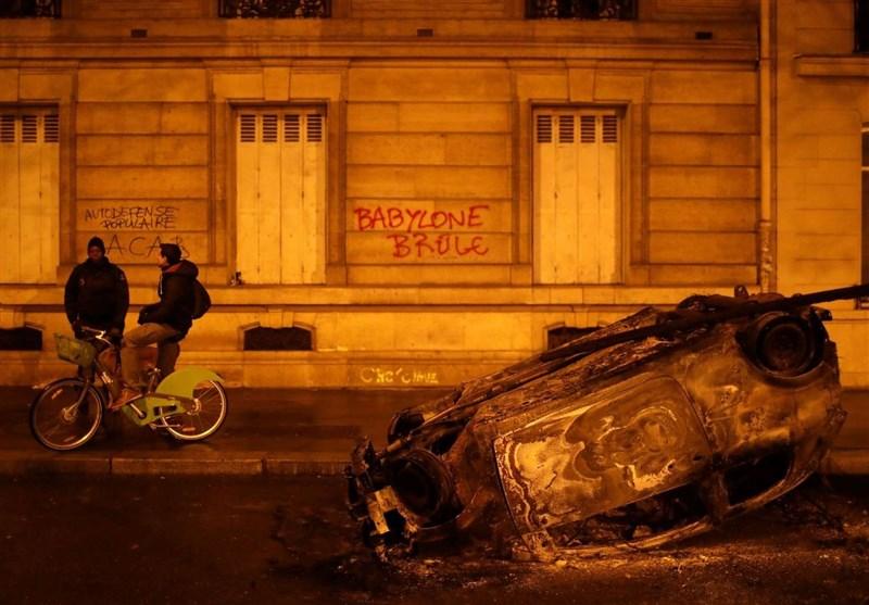 پاریس، بروکسل و آمستردام در آتش خشم معترضان + عکس و فیلم
