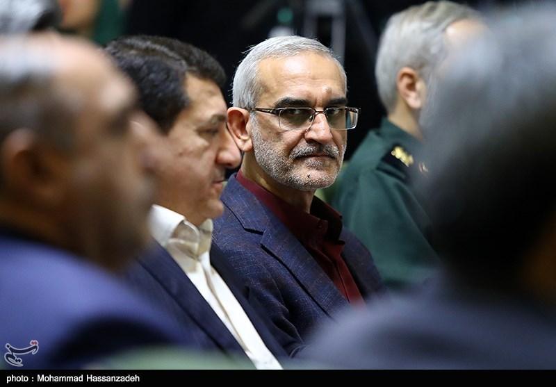 محسن پورسیدآقایی معاون حمل و نقل و ترافیک شهرداری تهران در مراسم ادای سوگند شهردار تهران