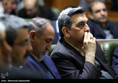 مراسم ادای سوگند پیروز حناچی شهردار تهران