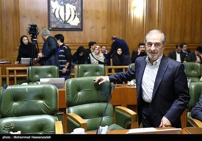 مرتضی الویری در جلسه علنی شورای شهر تهران