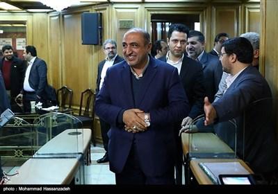 ورود عیسی فرهادی فرماندار تهران به جلسه علنی شورای شهر تهران