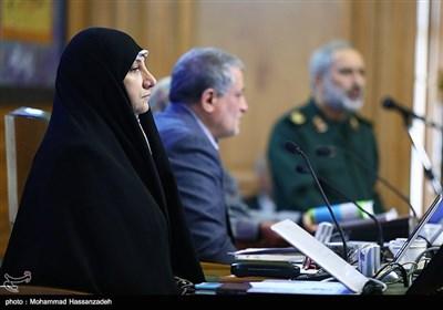 زهرا نژادبهرام در جلسه علنی شورای شهر تهران