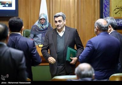 مراسم ادای سوگند پیروز حناچی شهردار تهران در شورای شهر تهران