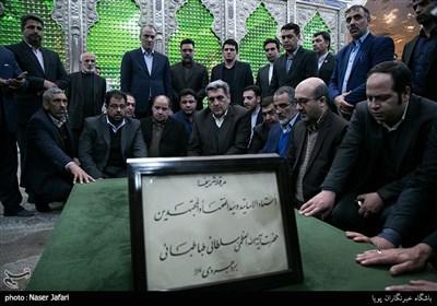 تجدید میثاق شهردار و اعضای شورای شهر تهران با آرمانهای امام خمینی(ره) و شهدا
