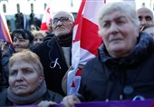 Thousands in Georgia Protest against Presidential Election Results