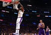 لیگ NBA| پیروزی لیکرز با تریپل دابل تاریخی/ بیستوهفتمین پیروزی جیمز مقابل مایکل جردن
