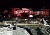 Large Tornado Tear through Taylorville, Illinois, Injuring 25, Damaging Over 100 Buildings