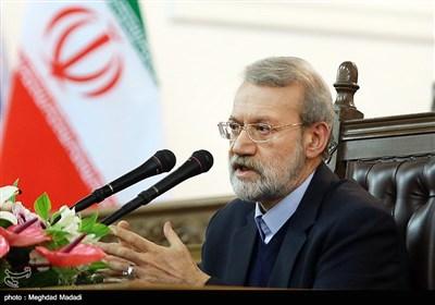 """رئیس مجلس: ایران بعد از برجام """"نجابت و عزتمندی"""" از خود نشان داد / ساختار بودجه در حال تغییر اصولی است"""