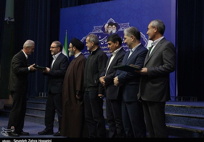آیین تودیع و معارفه استاندار آذربایجان شرقی به روایت تصویر 