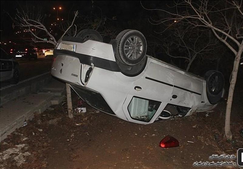 ایلام| تصادف در محور دهلران-اندیمشک 5 کشته برجای گذاشت