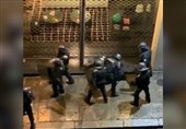French Police Officers Videoed Beating Up Protester
