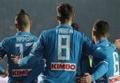 فوتبال جهان  پیروزی دیرهنگام، ناپولی را در فاصله 8 امتیازی یوونتوس نگه داشت