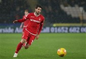 Ansarifard Impressed by Nottingham Forest's 'Passionate' Support