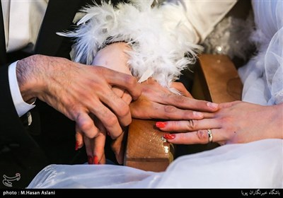 مراسم ازدواج 110 زوج معلول
