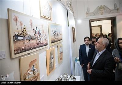 بازدید سعید اوحدی رییس سازمان فرهنگی هنری شهرداری تهران از نمایشگاه هفته فرهنگی الجزایر