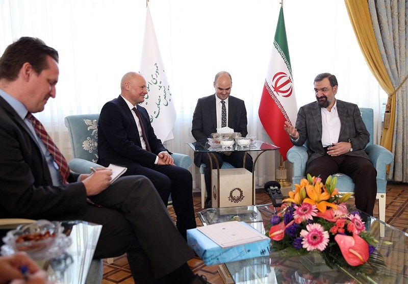 محسن رضایی در دیدار سفیر آلمان: از اروپاییها گلهمندیم
