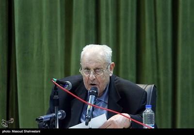 صلاح زواری سفیر فلسطین در ایران در مراسم بزرگداشت شهید رکن آبادی