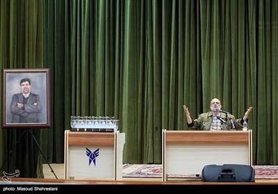 سخنرانی سردار سعید قاسمی در مراسم بزرگداشت شهید رکن آبادی
