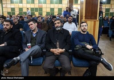 سردار حسین یکتا در مراسم بزرگداشت شهید رکن آبادی