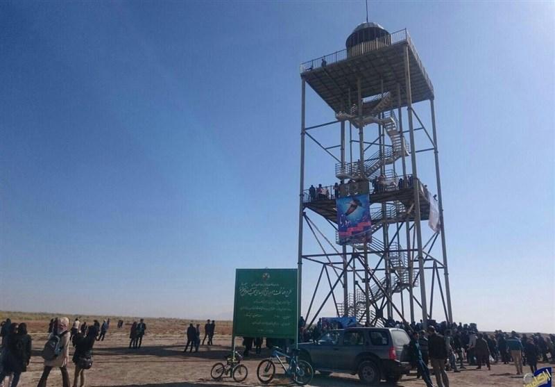 محیط زیست استان مرکزی بدون هیچ نظارتی اقدام به ساخت برج پرندهنگری کرده است