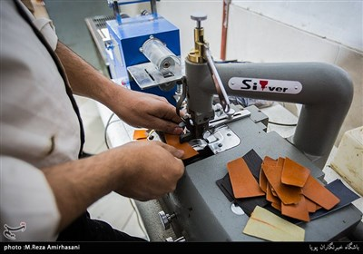 کارگاه تولید محصولات چرمی