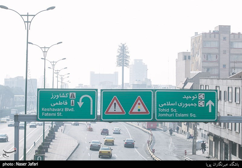 Air Pollution Soars in Tehran