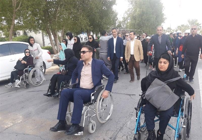 مناسب سازی فضای شهری برای جامعه معلولان در اولوبت برنامه شهرداری بوشهر است