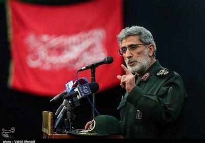سردار قاآنی: جبهههای مقاومت هر روز یک اقدام اساسی مقابل آمریکا و اسرائیل انجام میدهند / راه شهید حجازی ادامه دارد