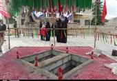همدان  مراسم وداع با 2 شهید گمنام در مسجد شهید حیدری نهاوند برگزار میشود+تصاویر