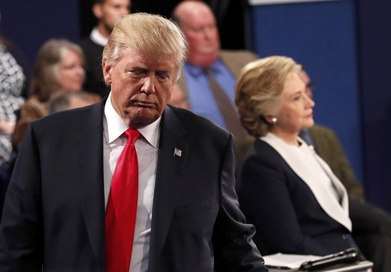 بیمحلی ترامپ و کلینتون به یکدیگر در مراسم عزا+عکس