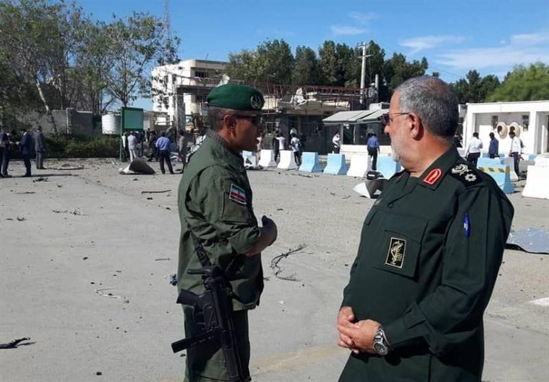 اختصاصی: حضور سردار پاکپور در محل حادثه تروریستی چابهار + تشریح جزئیات عملیات