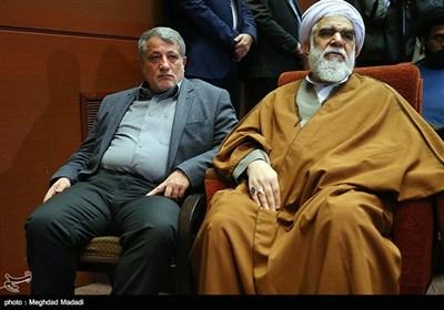 حجت الاسلام اختری و محسن هاشمی در دوازدهمین مجمع عمومی حزب مؤتلفه اسلامی