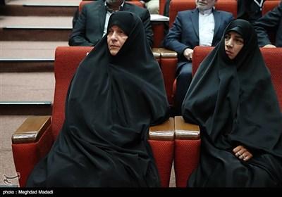 فاطمه رهبر در دوازدهمین مجمع عمومی حزب مؤتلفه اسلامی