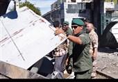 اختصاصی: حضور نیروهای S.N.S.F سپاه در محل حمله تروریستی چابهار + عکس