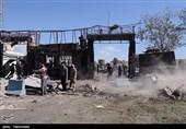 گزارش تصویری: ستاد فرماندهی ناجا در چابهار بعد از حمله تروریستی