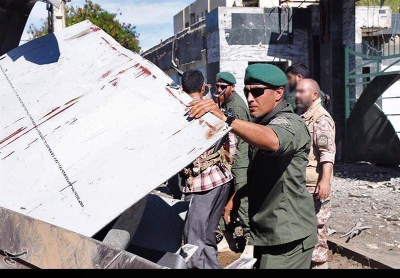 ستاد فرماندهی ناجا در چابهار بعد از حمله تروریستی